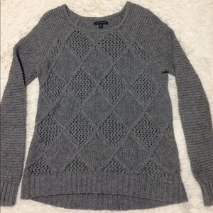 American Eagle oversized chunky sweater.